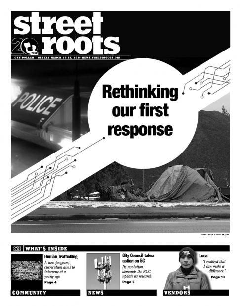 Street Roots March 15, 2019, cover