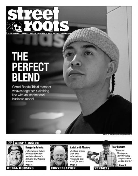 Street Roots March 29, 2019, cover