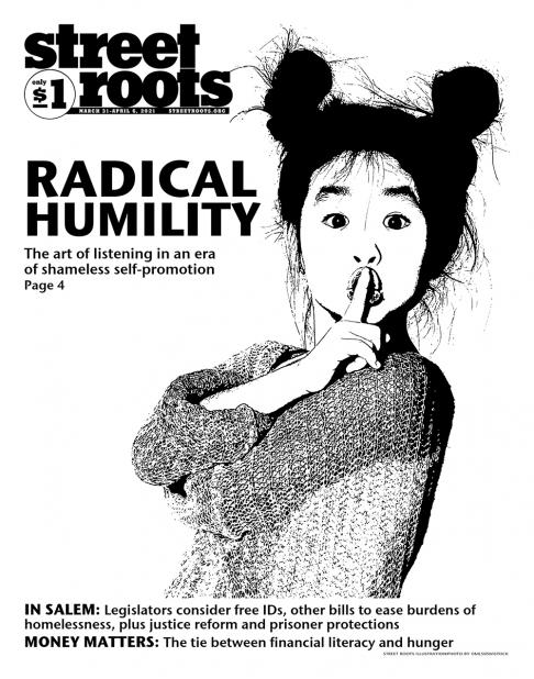 March 31, 2021, cover of Street Roots