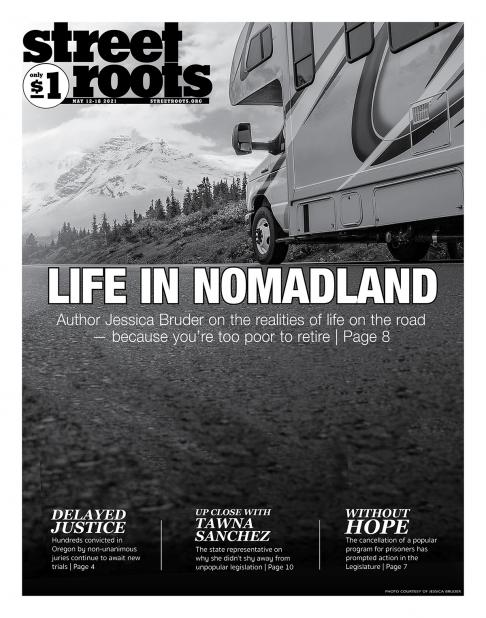 May 12, 2021, cover of Street Roots