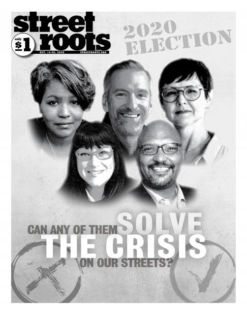 Street Roots' Oct. 14, 2020, cover