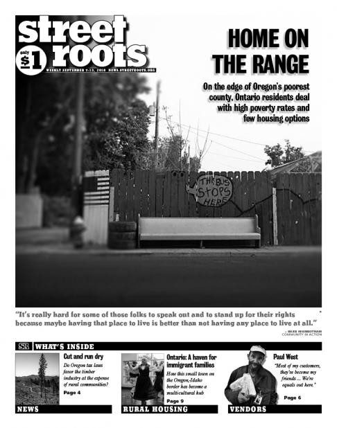 Street Roots Sept. 7, 2018, cover