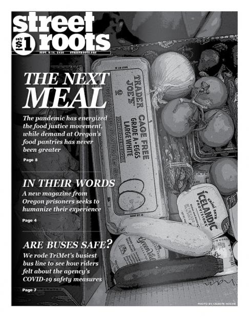 Sept. 9, 2020, cover of Street Roots