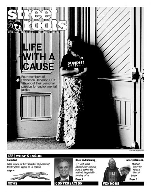 Street Roots Sept. 13, 2019, cover