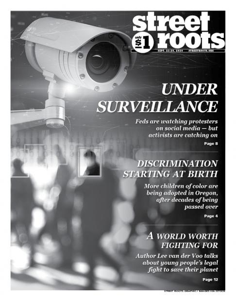 Sept. 23, 2020, cover of Street Roots