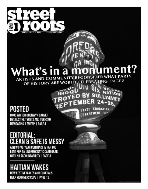 Cover of Street Roots Sept. 29 issue