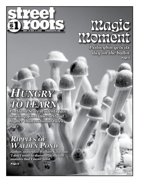 Sept. 30, 2020, cover of Street Roots