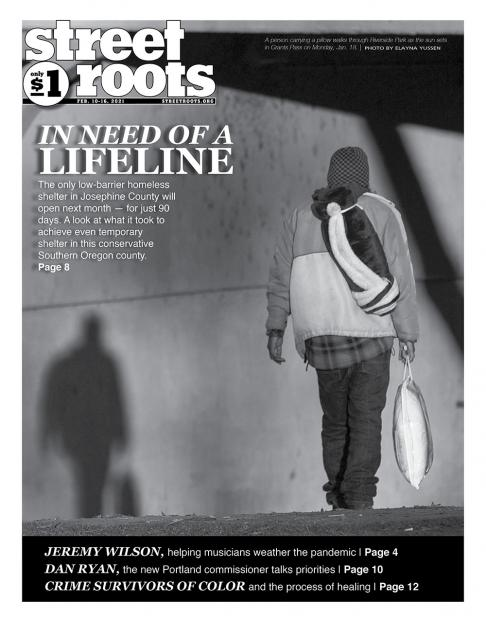 Feb. 10, 2021, cover of Street Roots