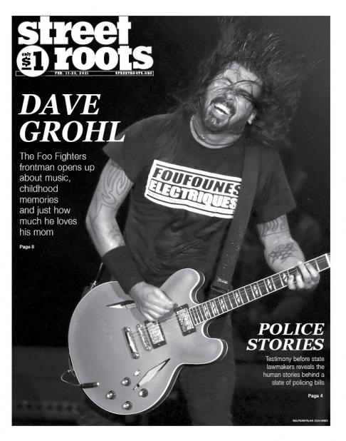 Feb. 17, 2021, cover of Street Roots