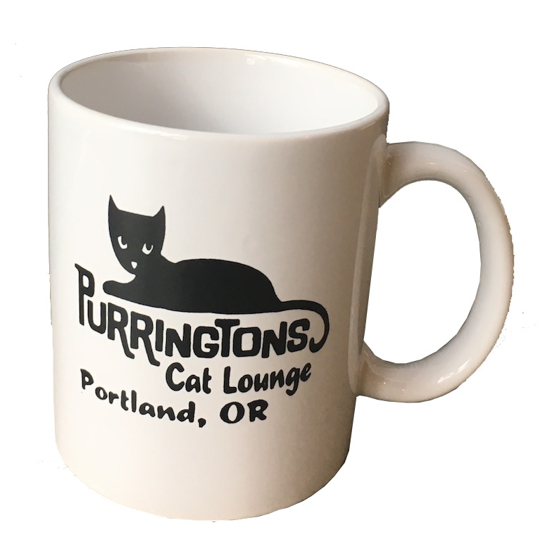 Purringtons cat mug