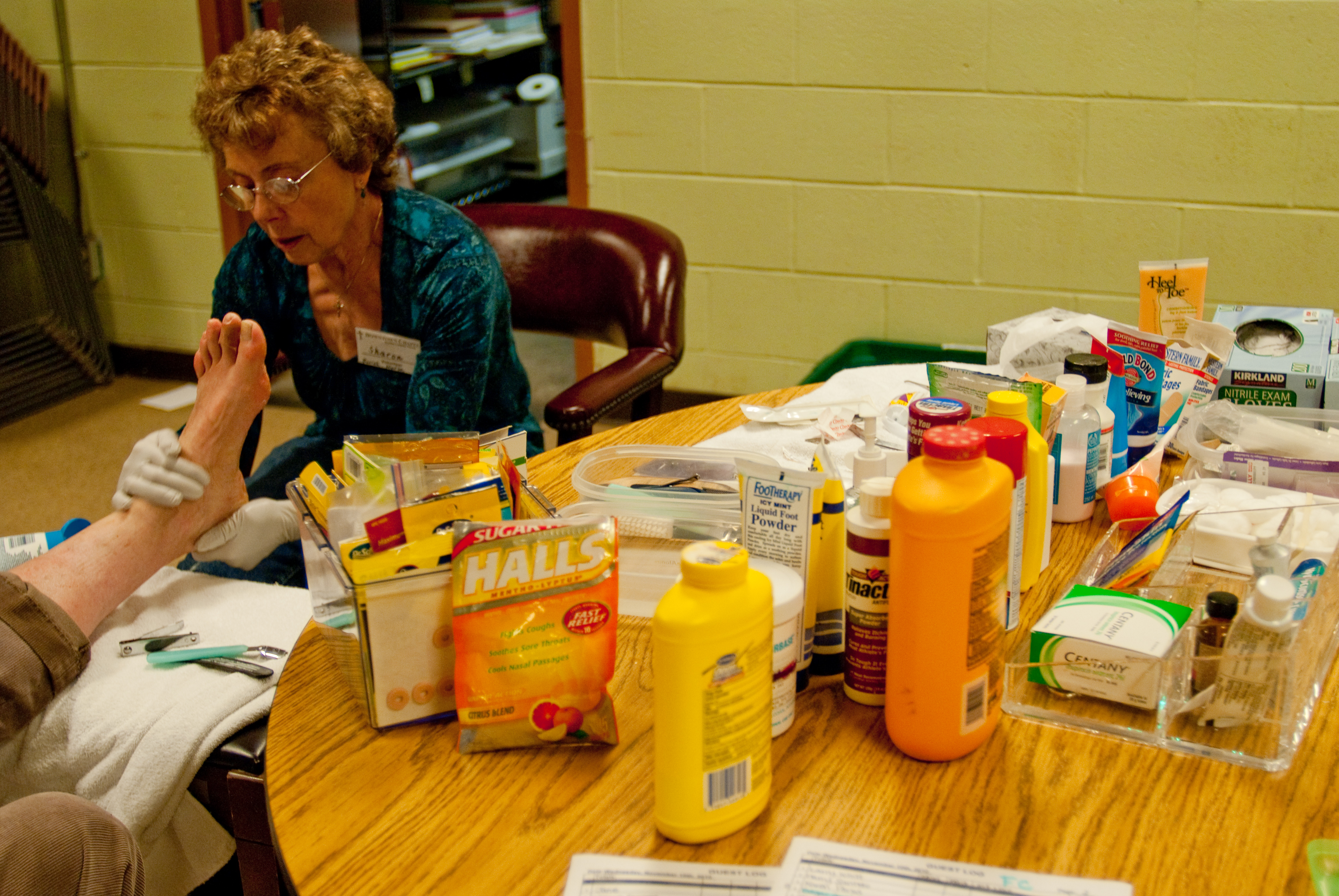 Foot care program at Downtown Chapel brings dignity and