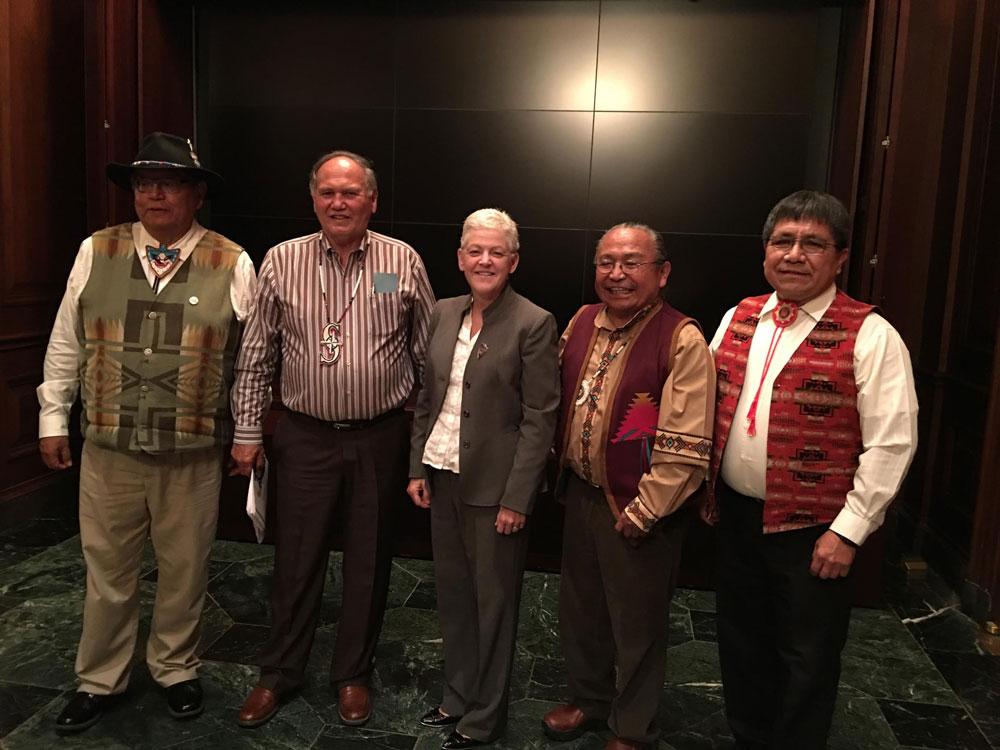 Yakama leaders
